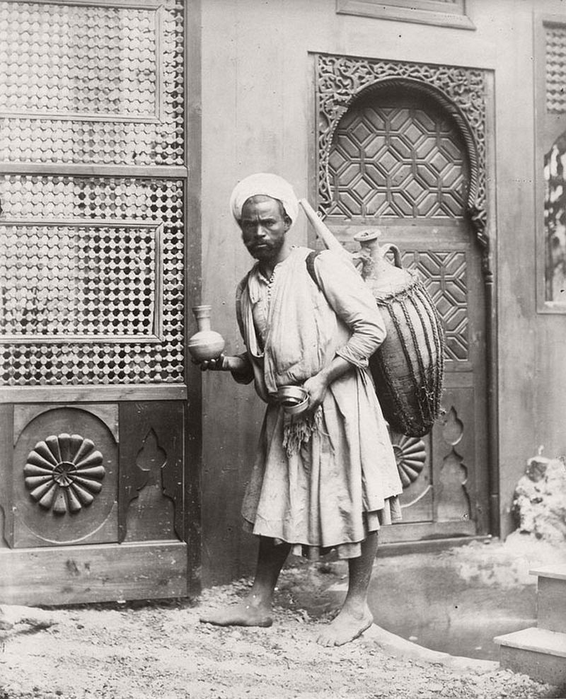 Water Vendor, Cairo, 1880