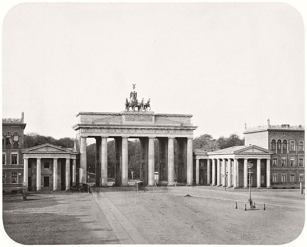 Leopold Ahrendts  Brandenburg Gate, 1855-59