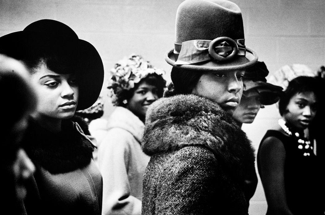 Leonard Freed, Harlem fashion show, 1963  Leonard Freed / Magnum Photos