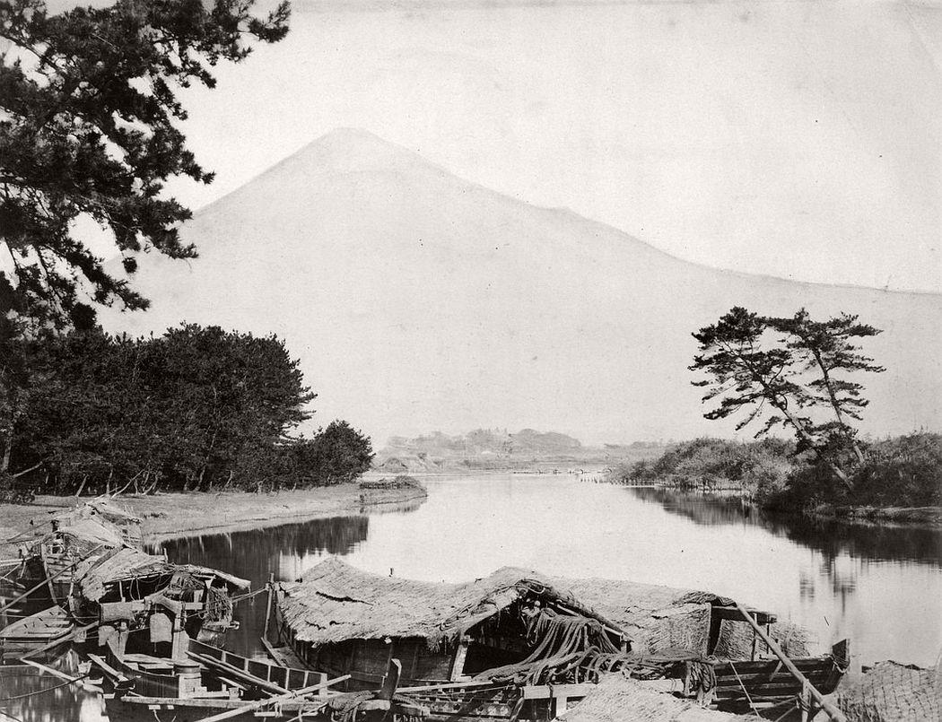 Mount Fuji, ca. 1870