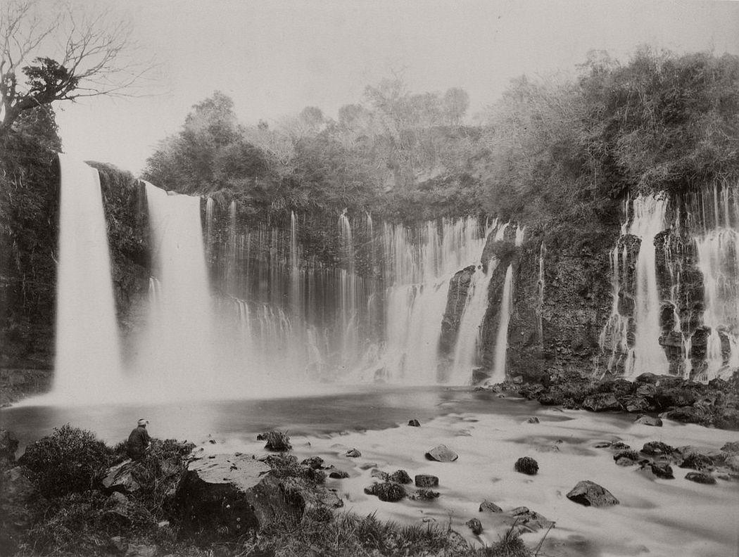 Fuji Shiraito Falls, ca. 1880