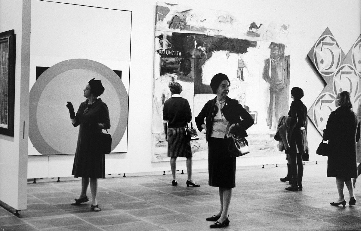 John Whitney Museum NY, 1960, © Neil Libbert