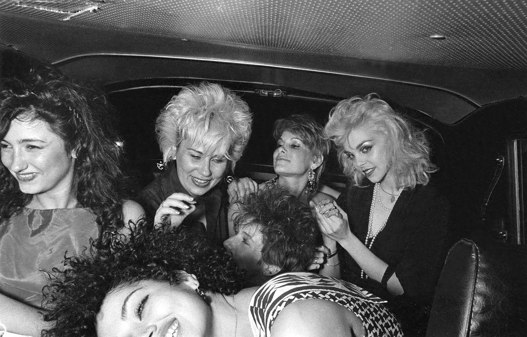 Passengers. New York. 1982