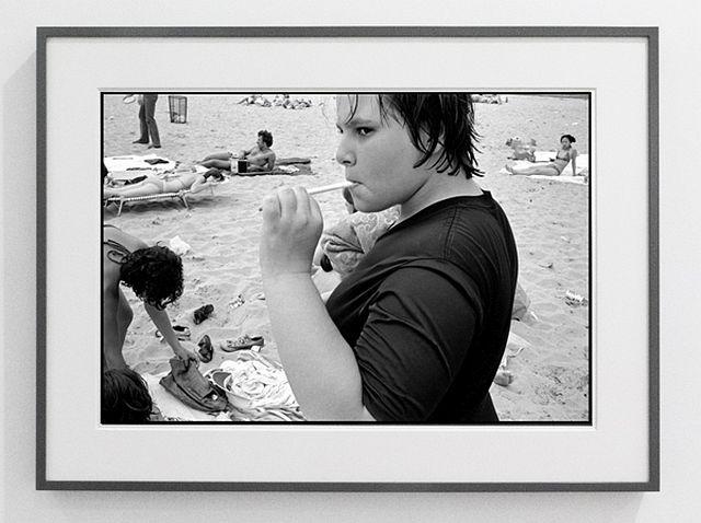 Susan Meiselas Carol at Rockaway Beach 1978