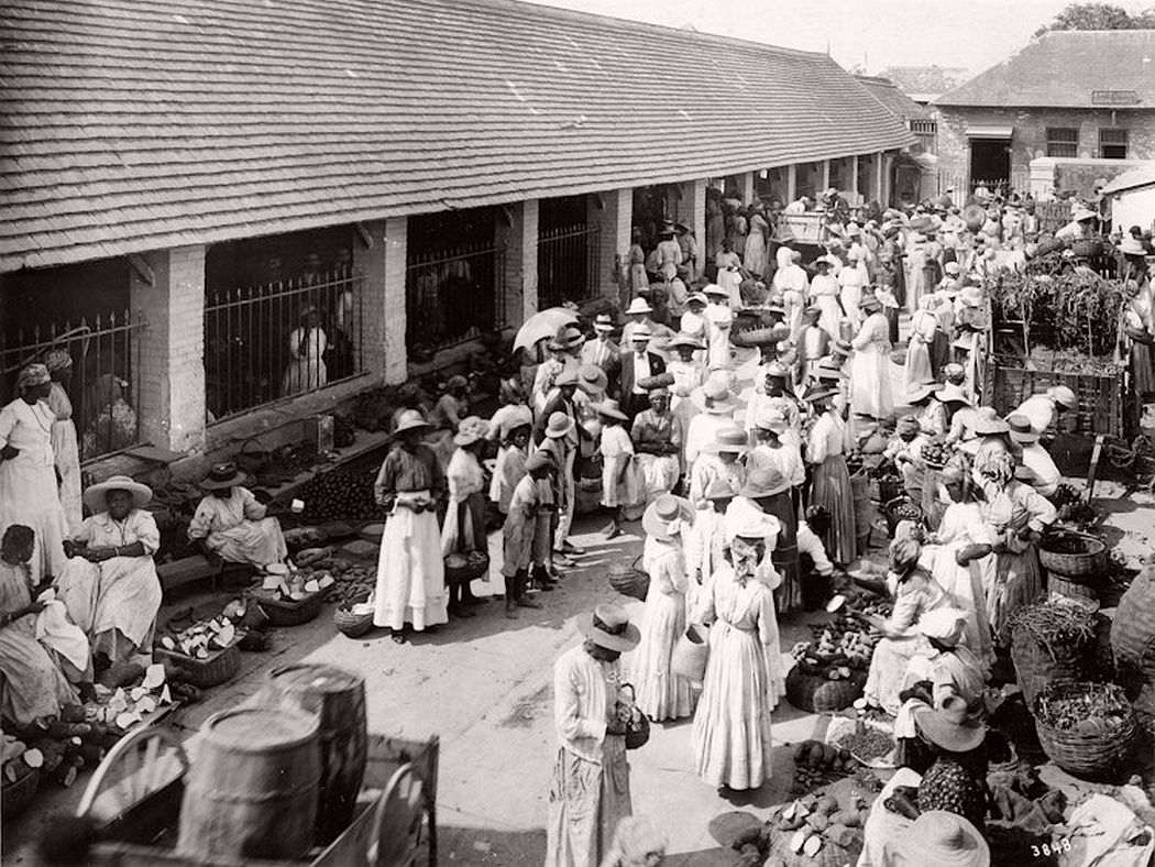 Jubilee Market, Kingston, Jamaica, ca. 1890s