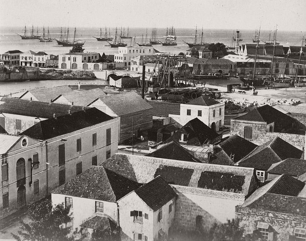 Kingston, Jamaica in the 1870s