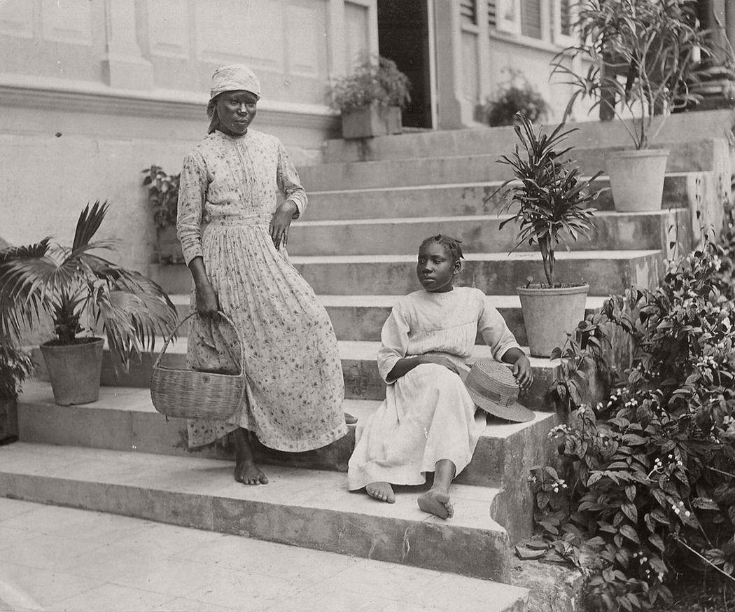 Negro girls, 1891