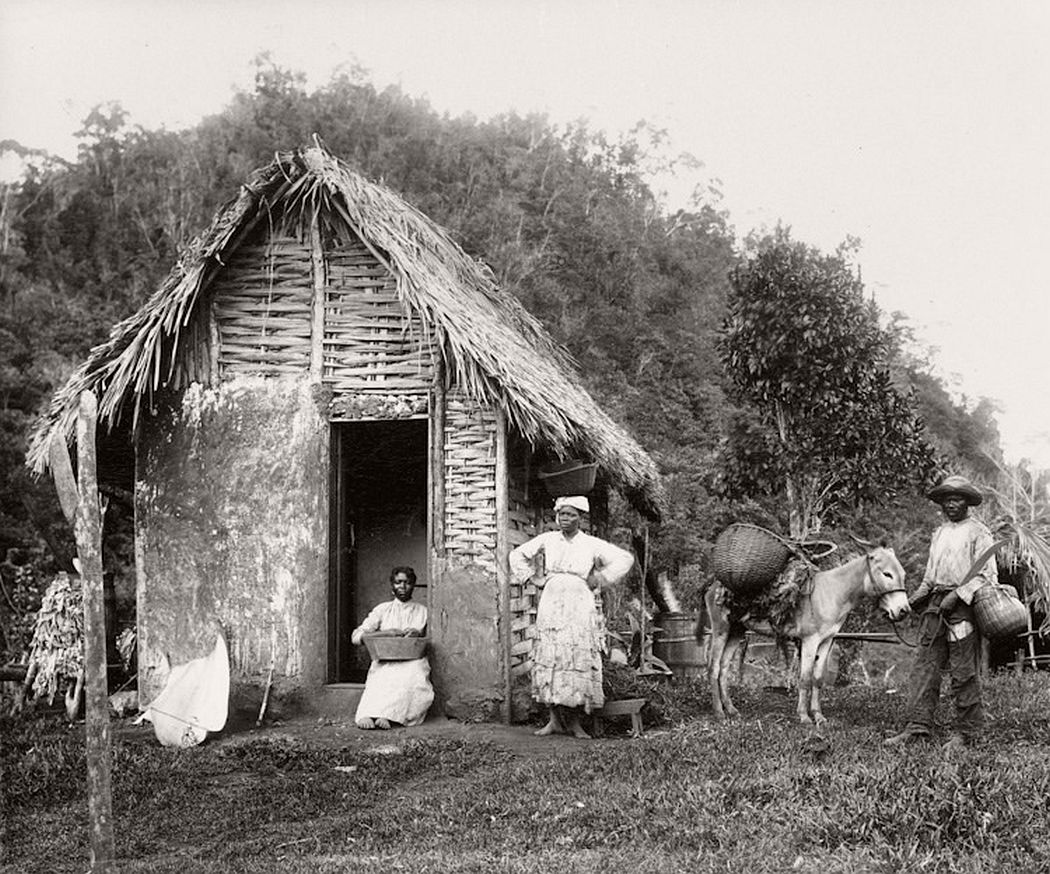 Rural house in Jamaica, ca. 1890s
