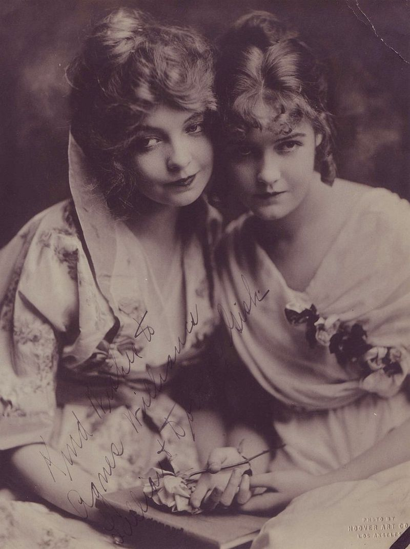 Lillian and Dorothy Gish