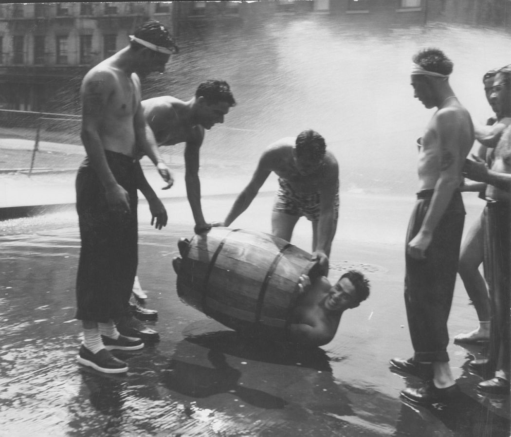 Heat Wave, Lower East Side, 1952