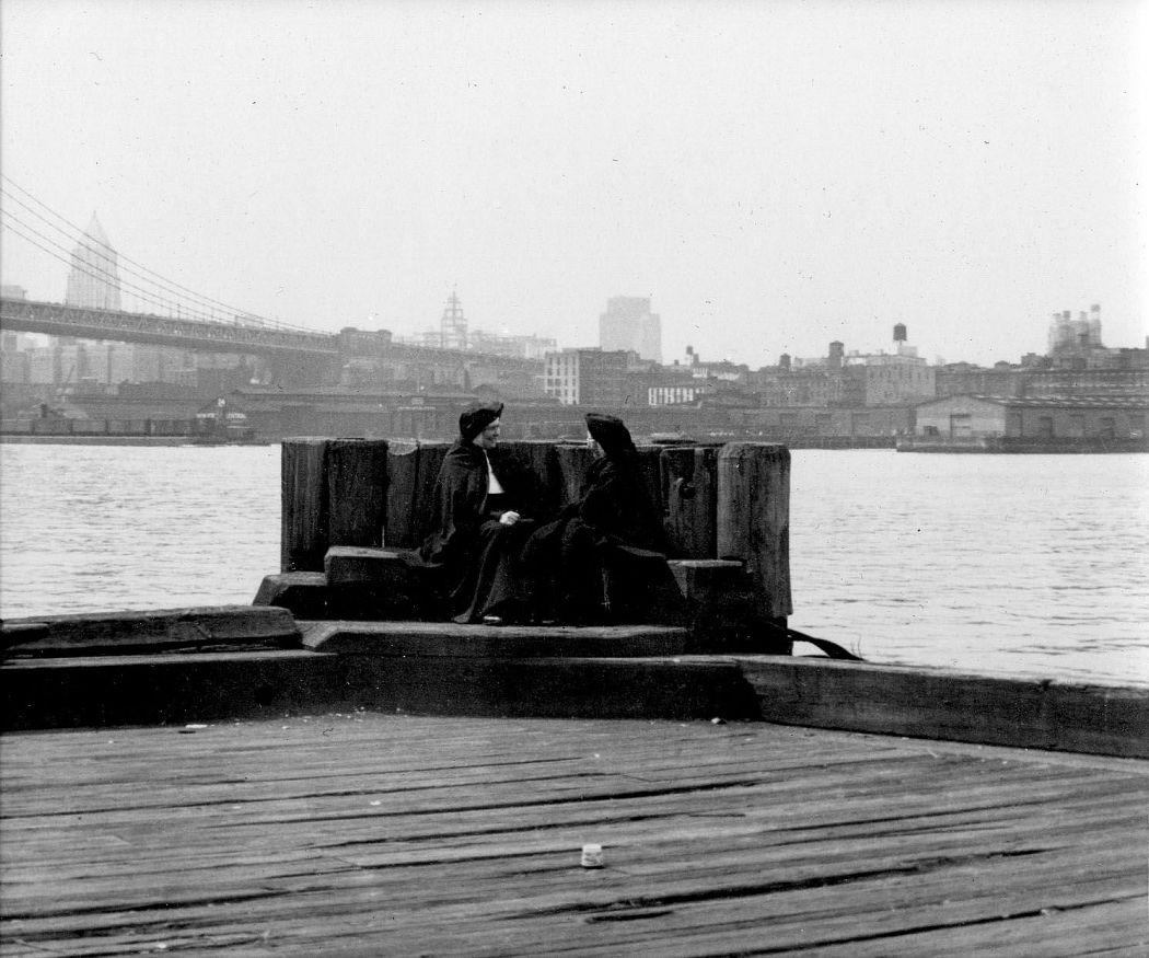 NYC, East River, circa 1945