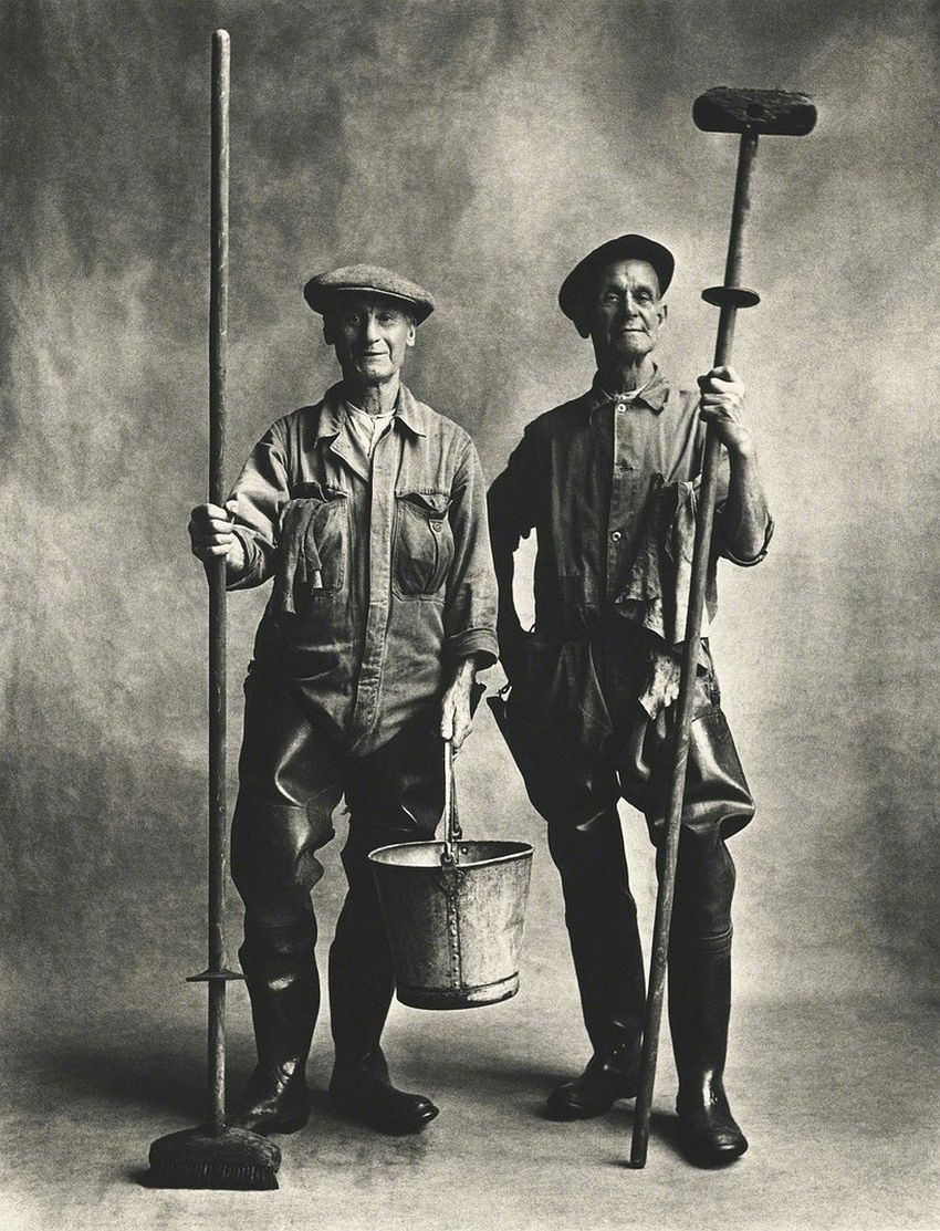 Irving Penn Lorry Washers, London-1950
