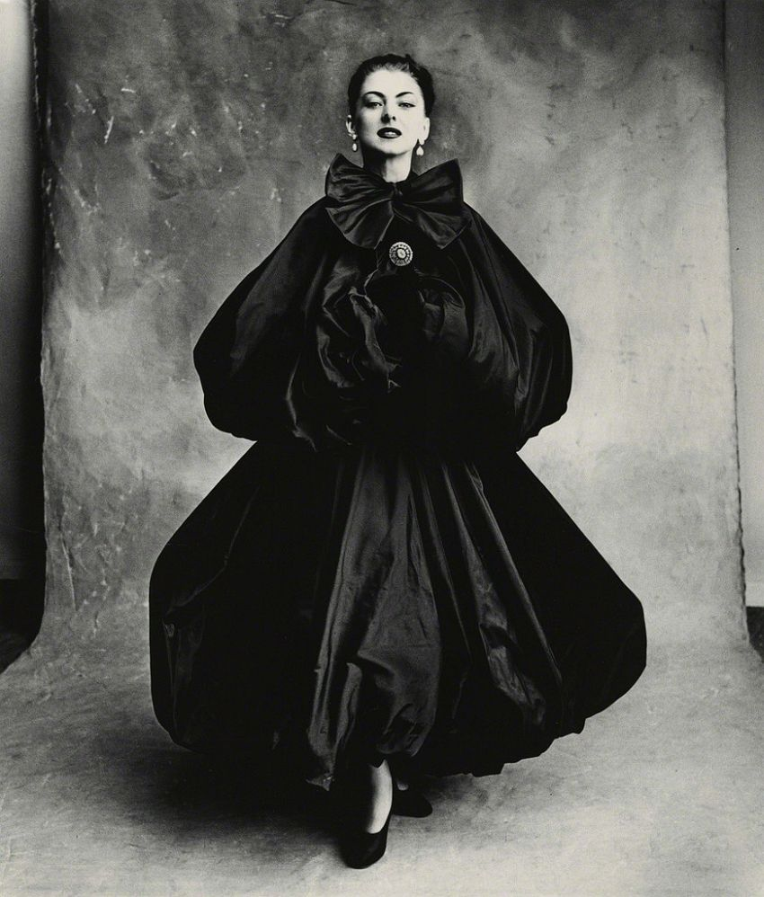 Irving Penn Balenciaga Harem Dress (Diane), Paris-1950