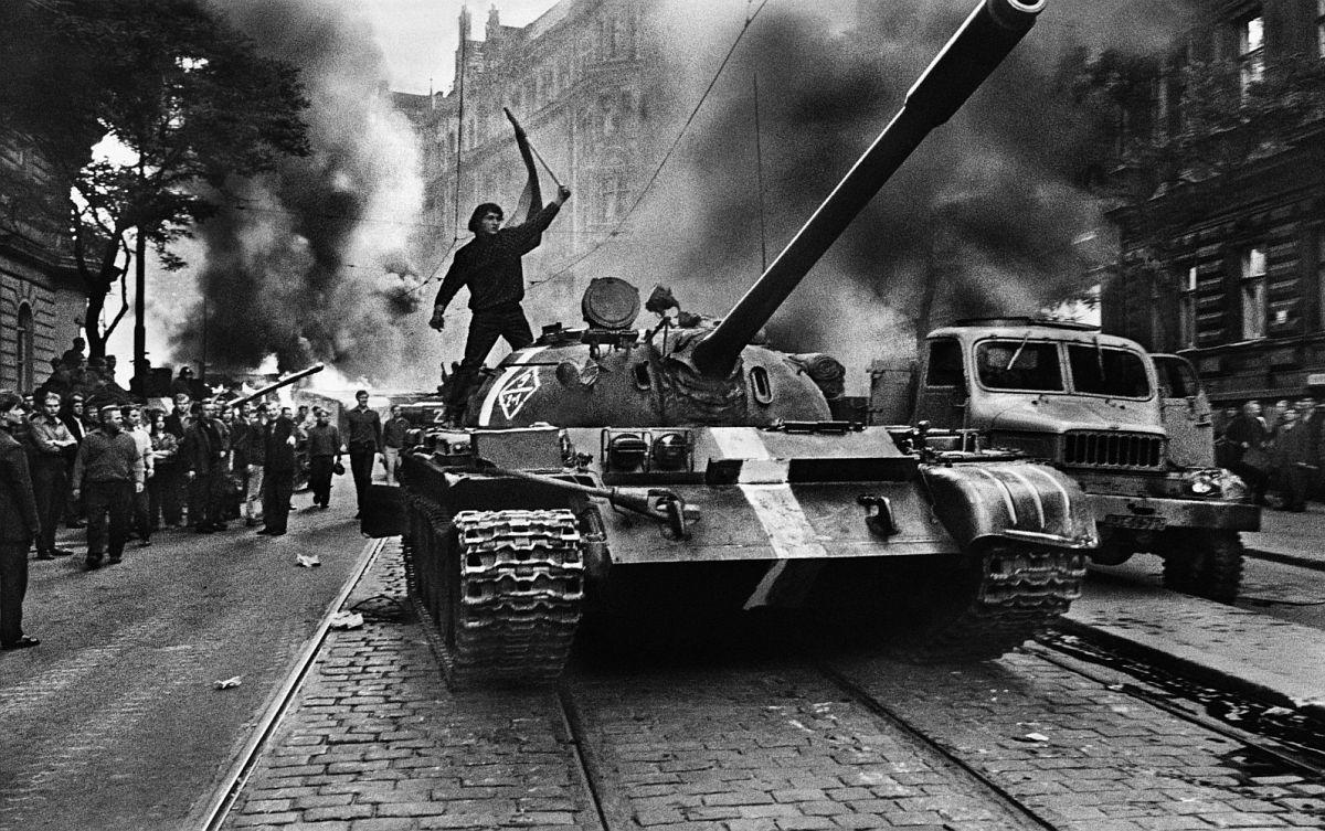 CZECHOSLOVAKIA. Prague. August 1968