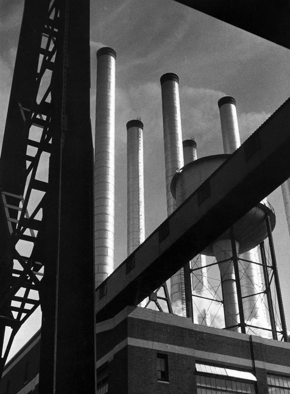 Power Station of the Ford Plant in Dearborn, Detroit, 1931 © Fritz Block Estate Archive, Stockholm/Hamburg