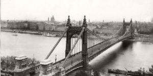 Vintage: Elisabeth Bridge in Budapest