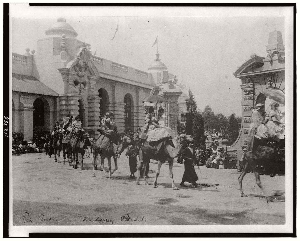 Pan-American midway parade, 1901.