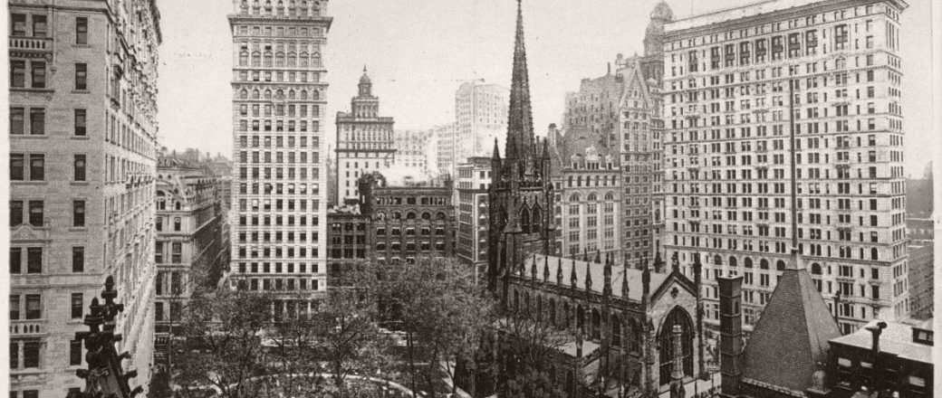 f758a8cc8e9 Vintage  New York City Manhattan Skyscrapers (early 20th Century ...