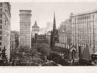 Vintage: New York City Manhattan Skyscrapers (early 20th Century)