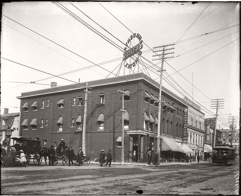 The Grand Hotel on Sussex Dr. at Rideau St., ca. 1890s