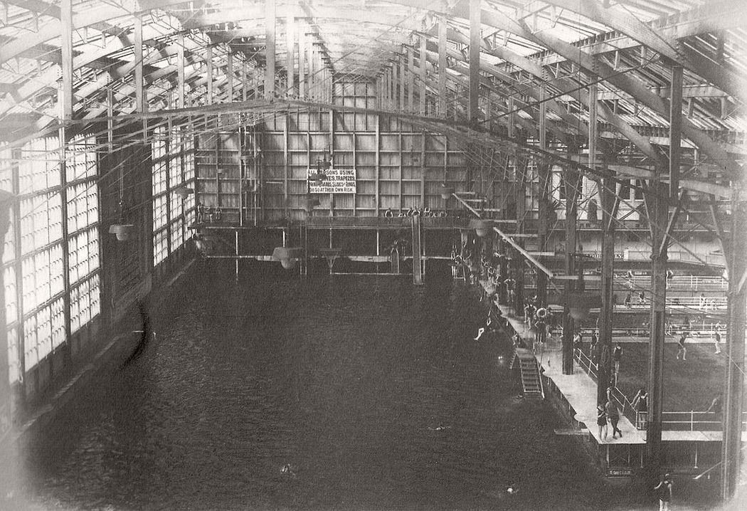 Sutro Baths, SF, Cal. about 1900
