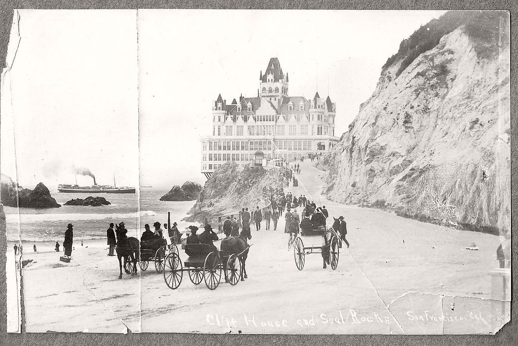 The Cliff House, SF, Cal. around 1900