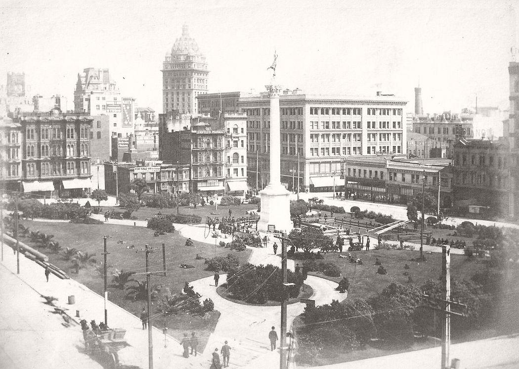 Union Square, San Francisco, Cal., ca. 1900