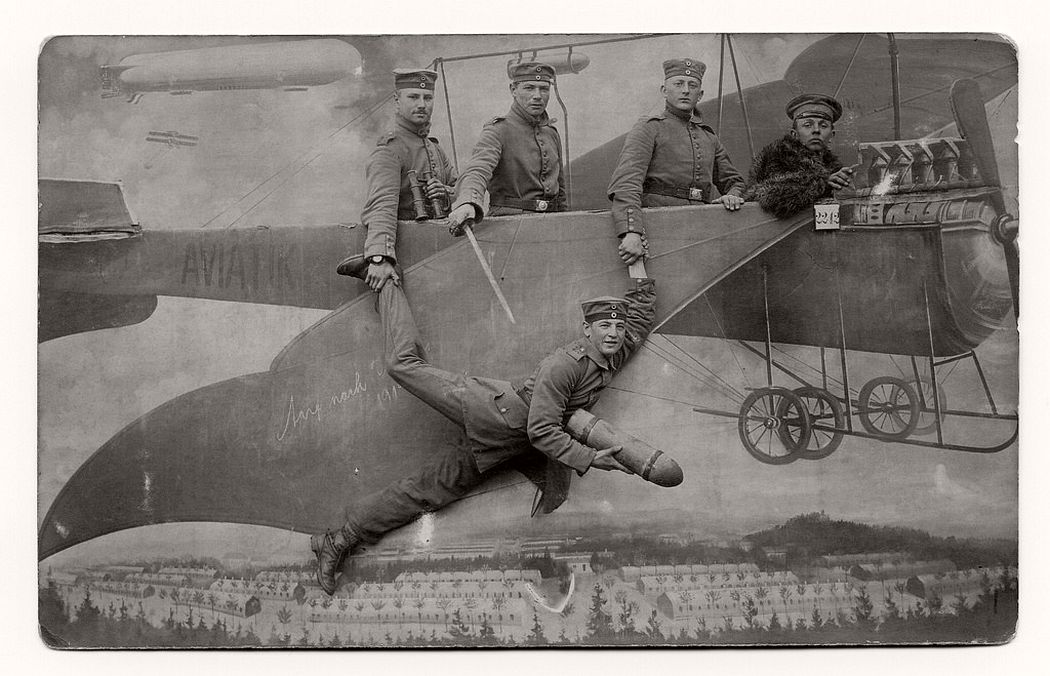 Vintage: Studio Pictures of Soldiers in the 1910s