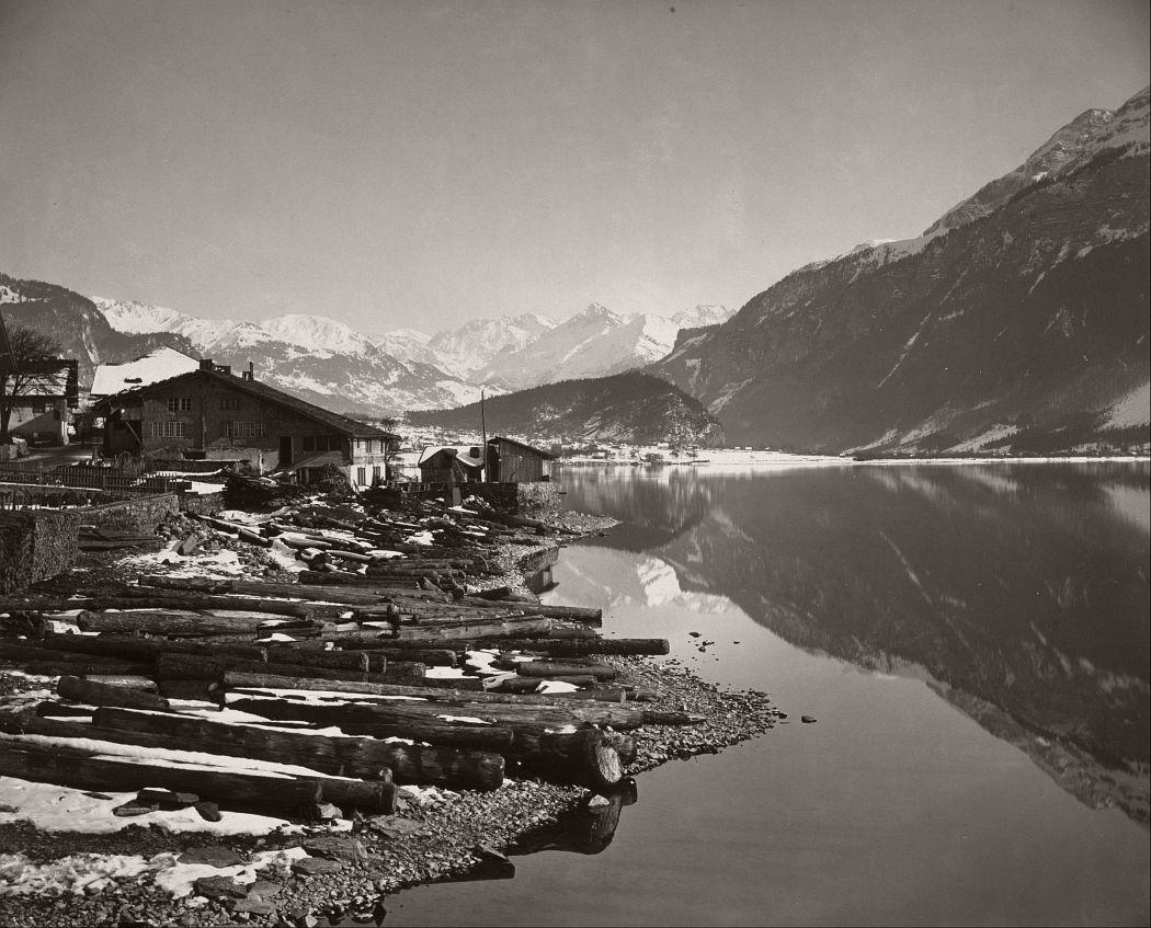 Lac de Brienz, 1865.