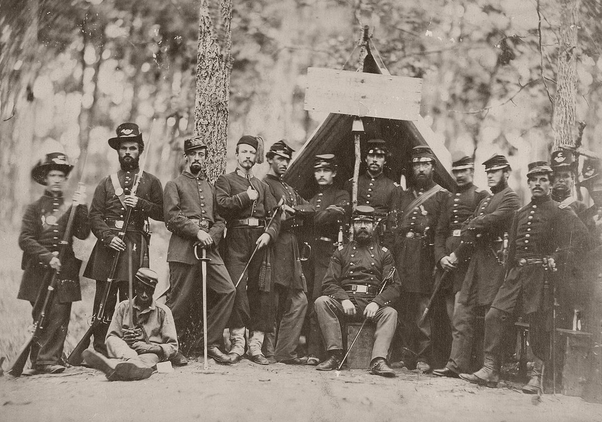 Group of Union Officers, 1861