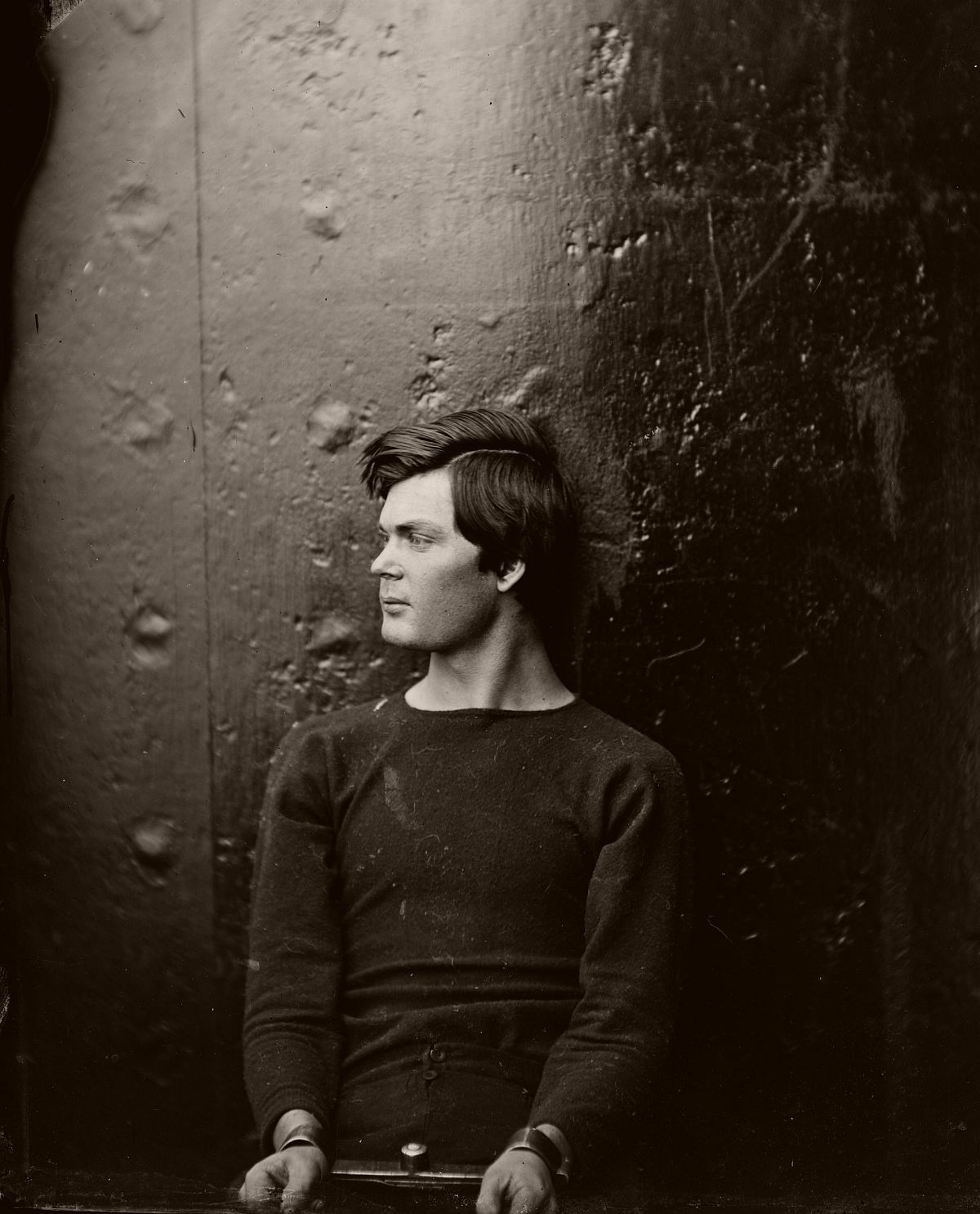 Lewis Powell, conspirator to assassination, after arrest, 1865.