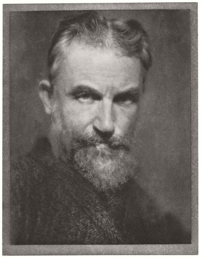 George Bernard Shaw. Published in Camera Work no. 13, 1908.