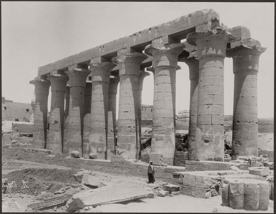 Luxor, Egypt, circa 1870