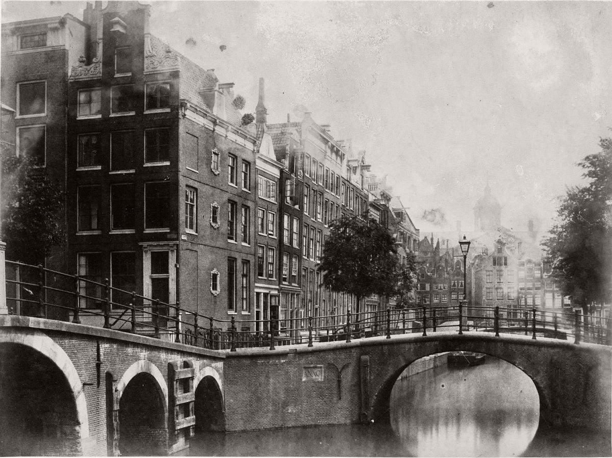 Warmoesgracht, 1857.