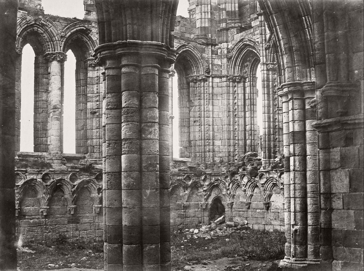 Whitby Abbey, Yorkshire, 1854.