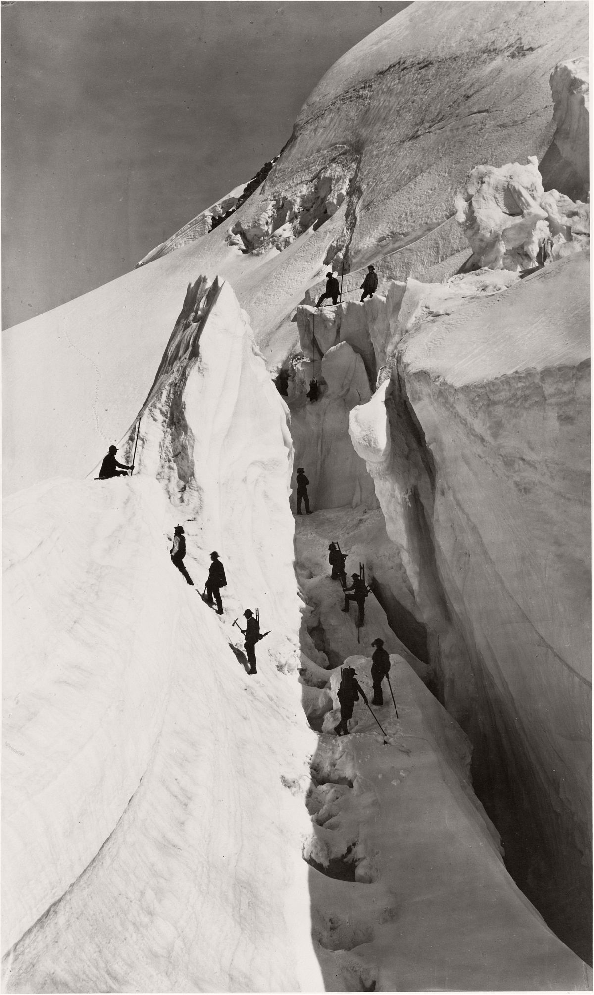The Ascent of Mont Blanc, 1861.