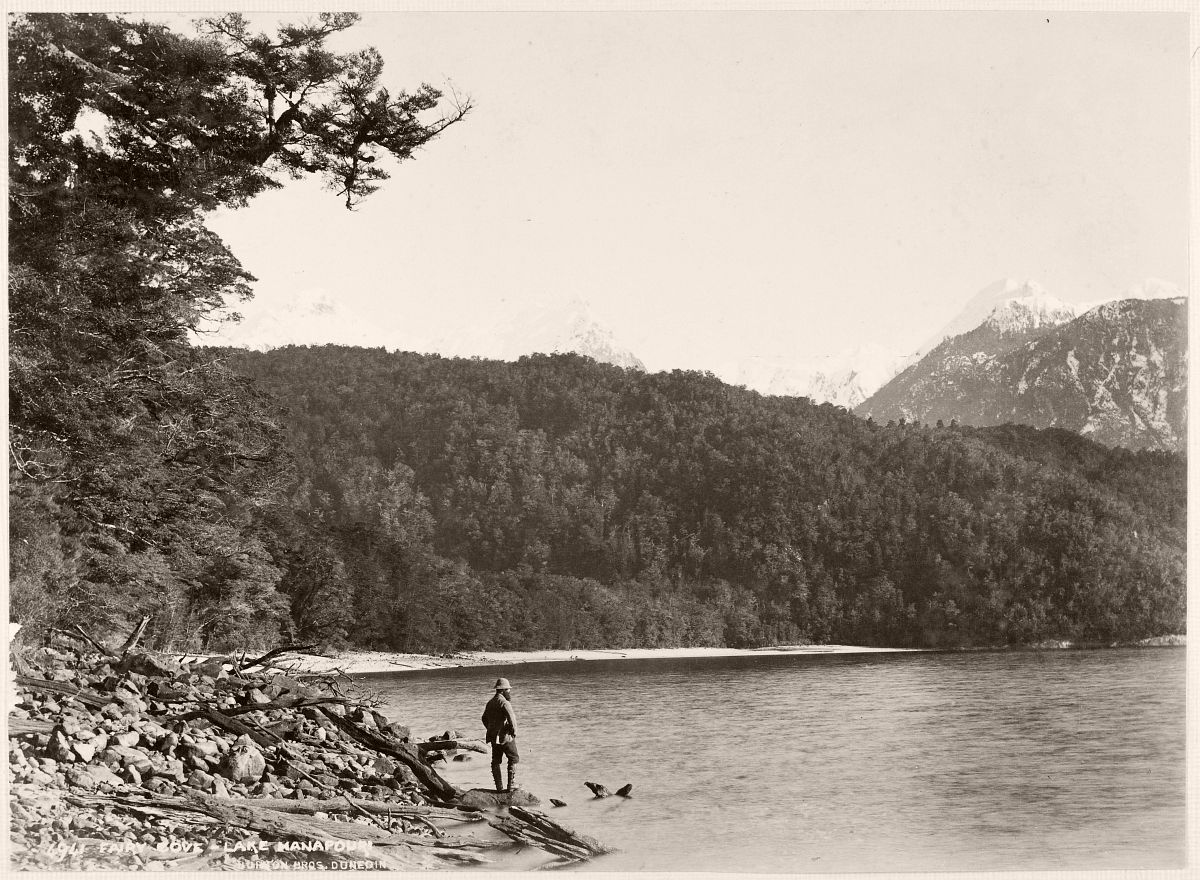 Fairy Cove - Lake Manapouri. Burton Brothers studio, 1889
