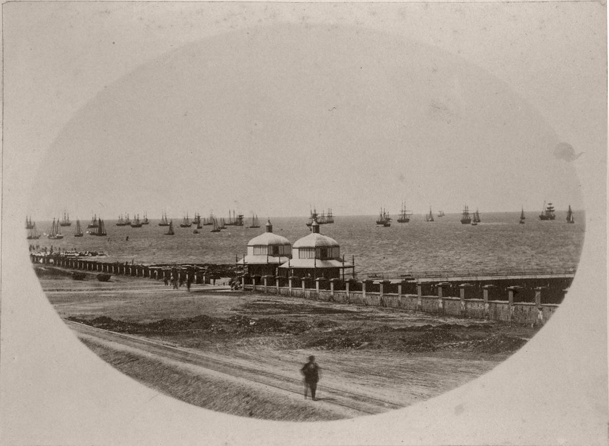 Muelle de Pasajeros (Gonnet, 1864)