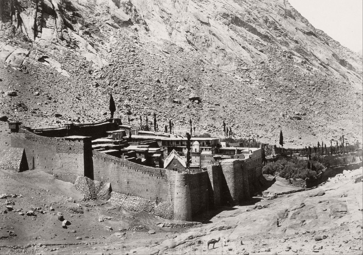 The Convent of Sinai, 1858.