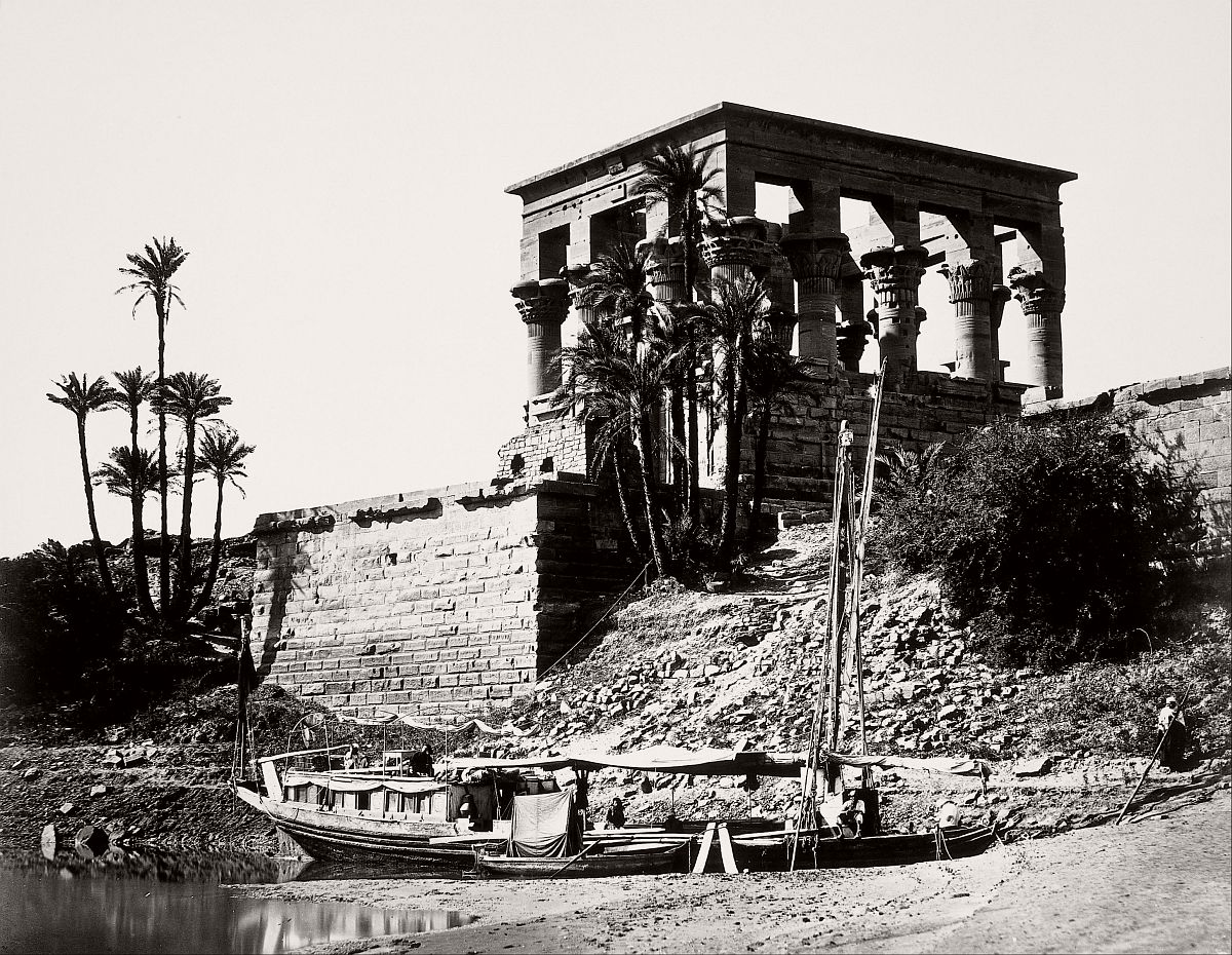 The Hypaethral Temple, Philae (Egypt), 1857.