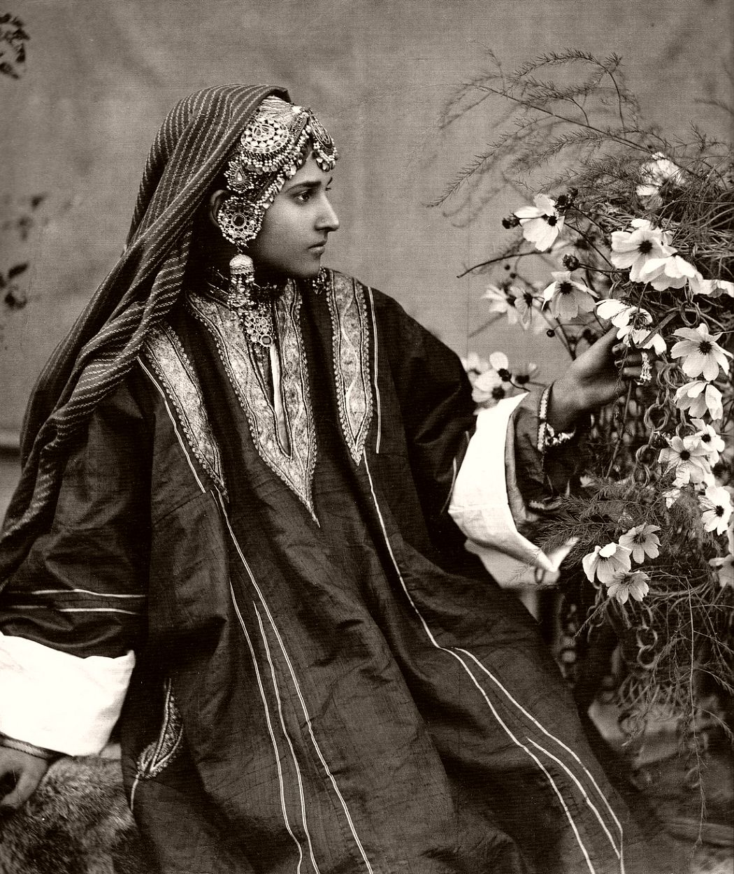 Kashmiri dancer, 1924. Photo by Fred Bremner