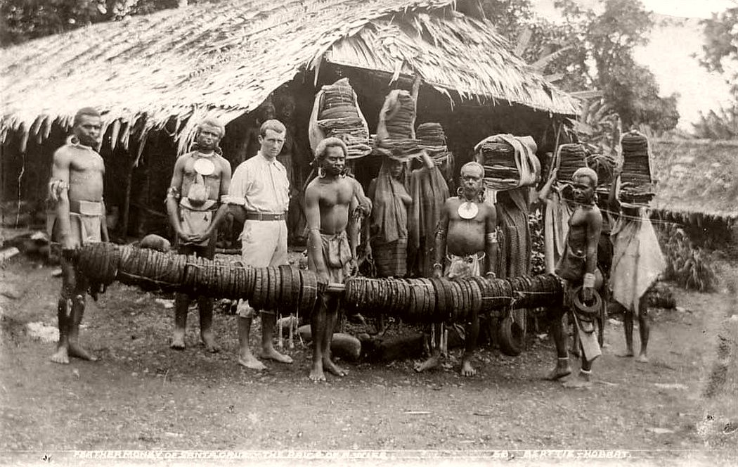 Santa Cruz feather money, Solomon Islands, c 1914-15.