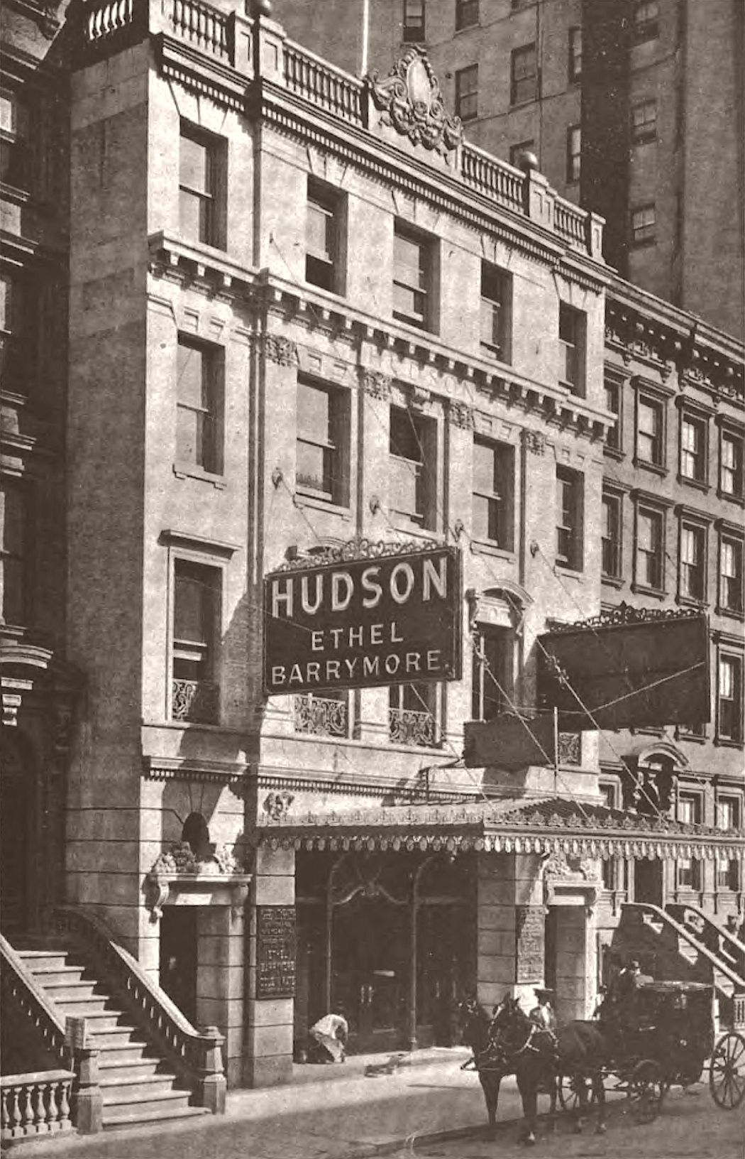 Hudson Theatre, West 44th Street, New York, 1904