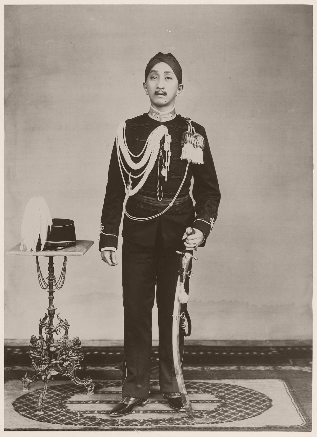 The crown prince of Yogyakarta, circa 1919
