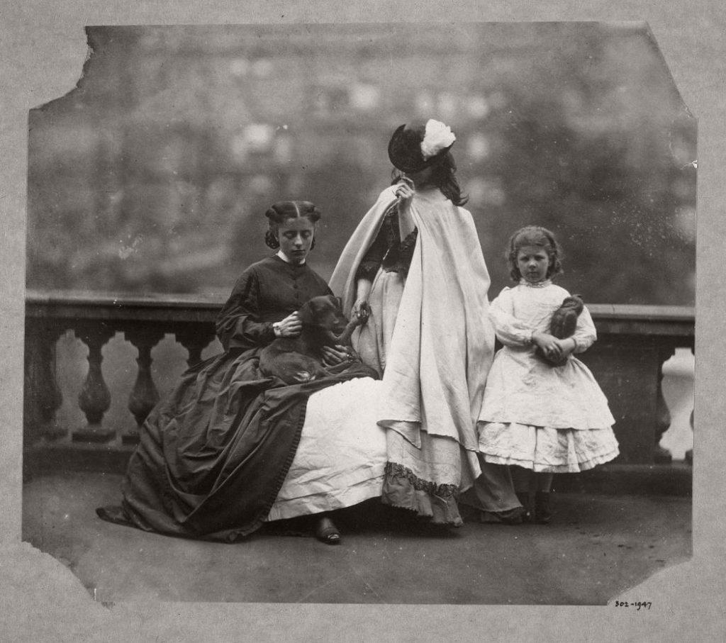 victorian portraits era lady 1860s hawarden clementina monovisions