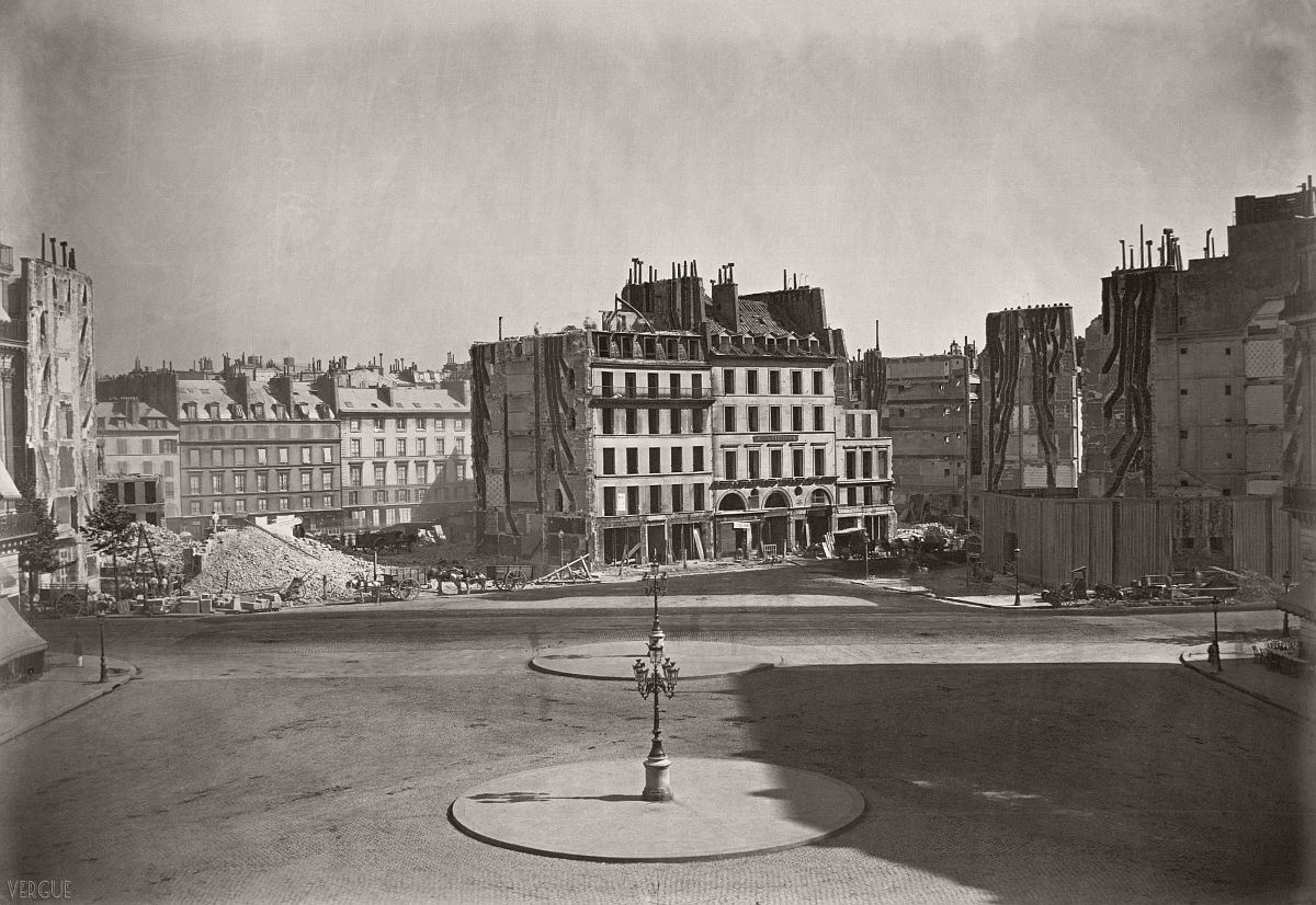 Place de l'Opéra, Paris, France. 1868.