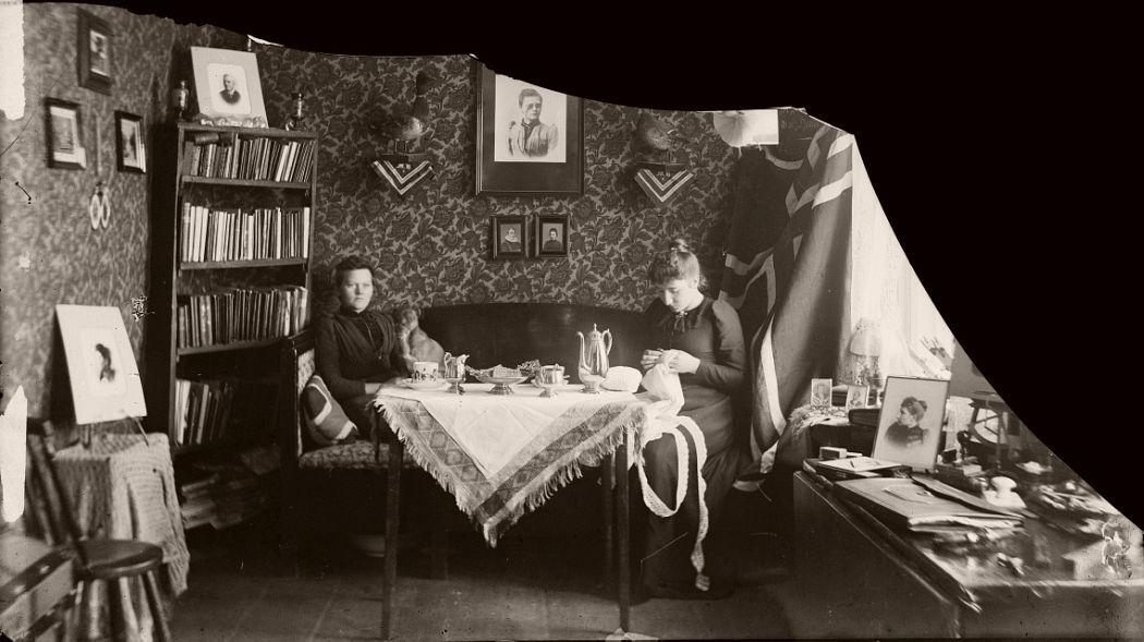 Marie Høeg and Bolette Berg