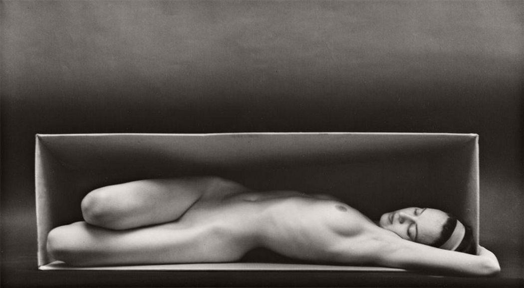 Ruth Bernhard  In the Box, 1962