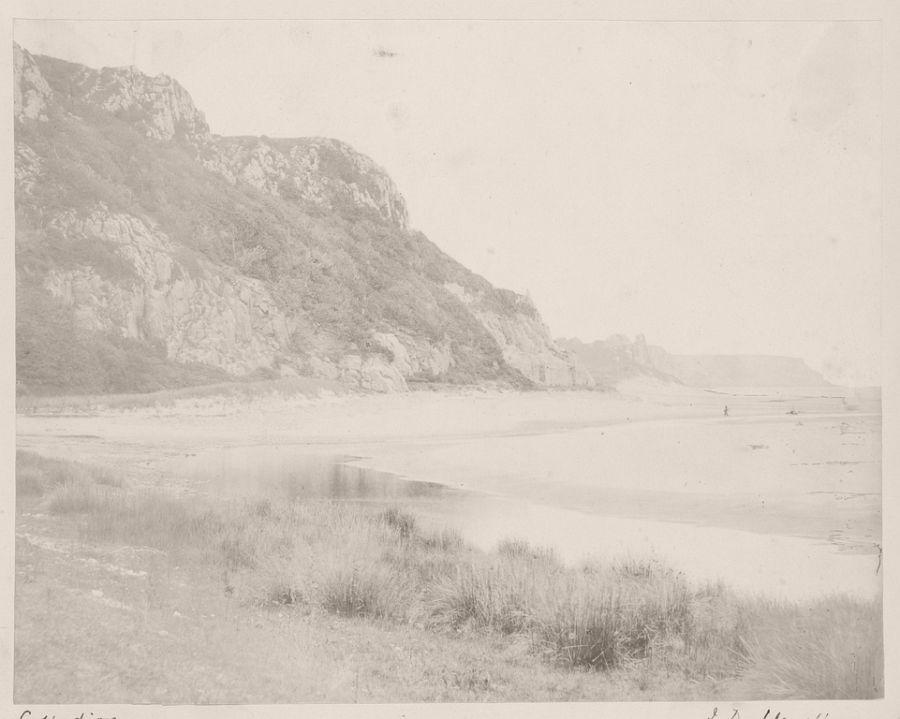 Crawley Rocks, Oxwich Bay, Glamorganshire, 1853