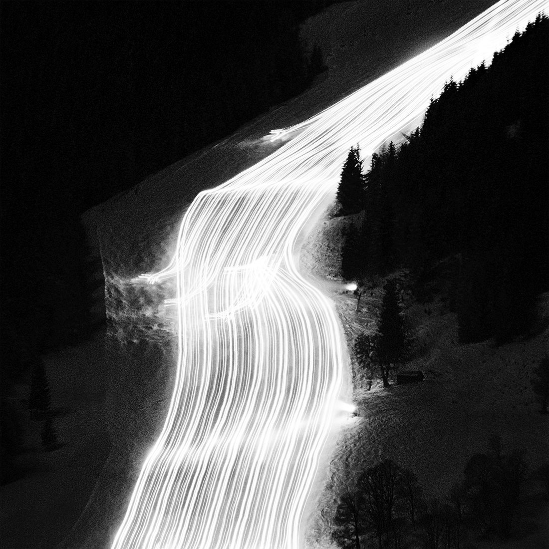 Oliver Kussinger: Snow Groomer - Pistenkatze / 1st Place in Abstract (Single)